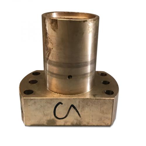 chiocciola in bronzo
